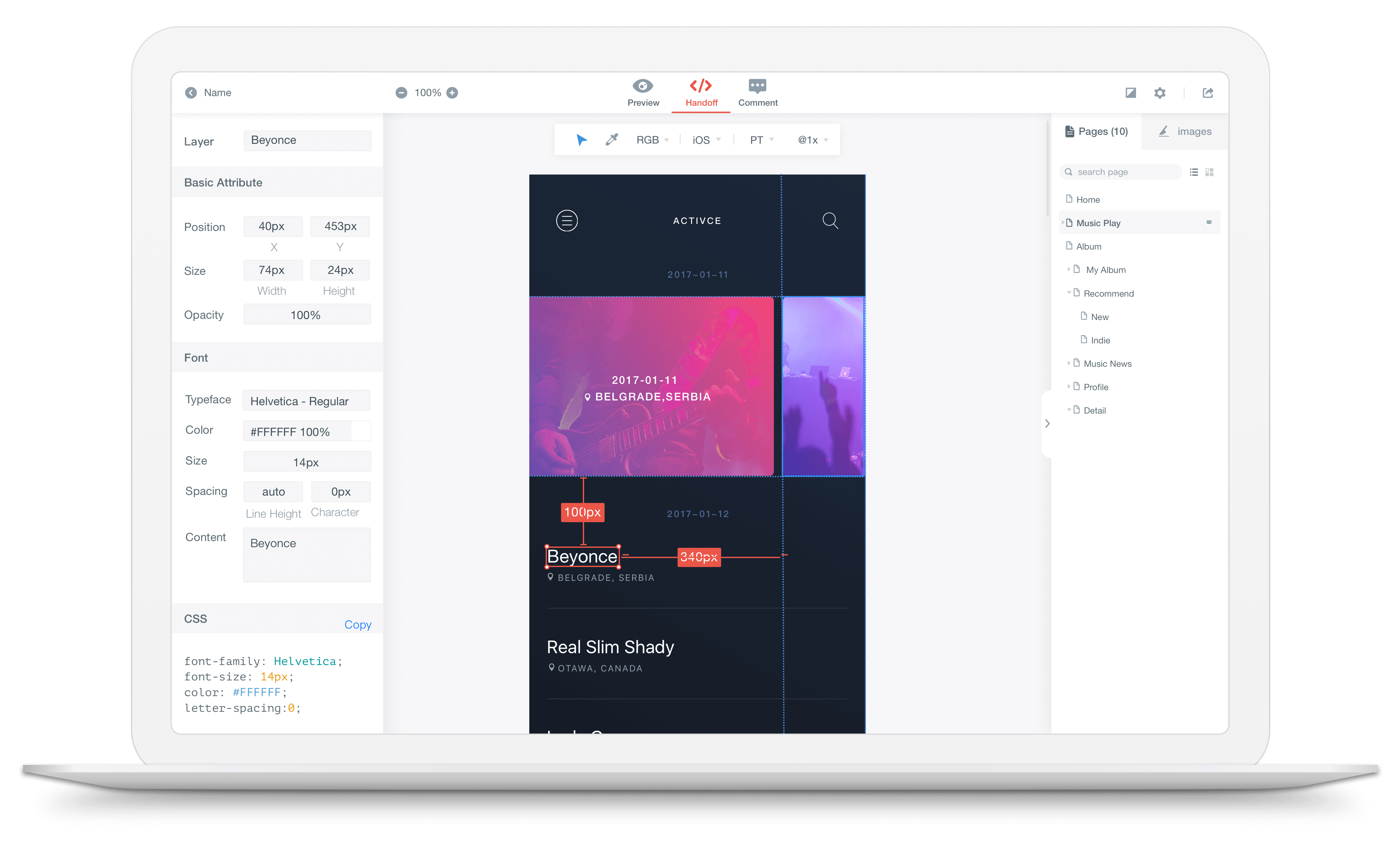 Mockingbot The Simple Easy To Use Prototyping Collaboration Tool